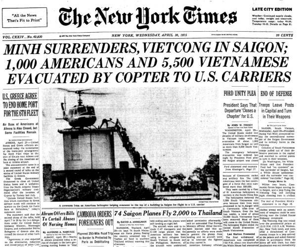 April 30, 1975 IV