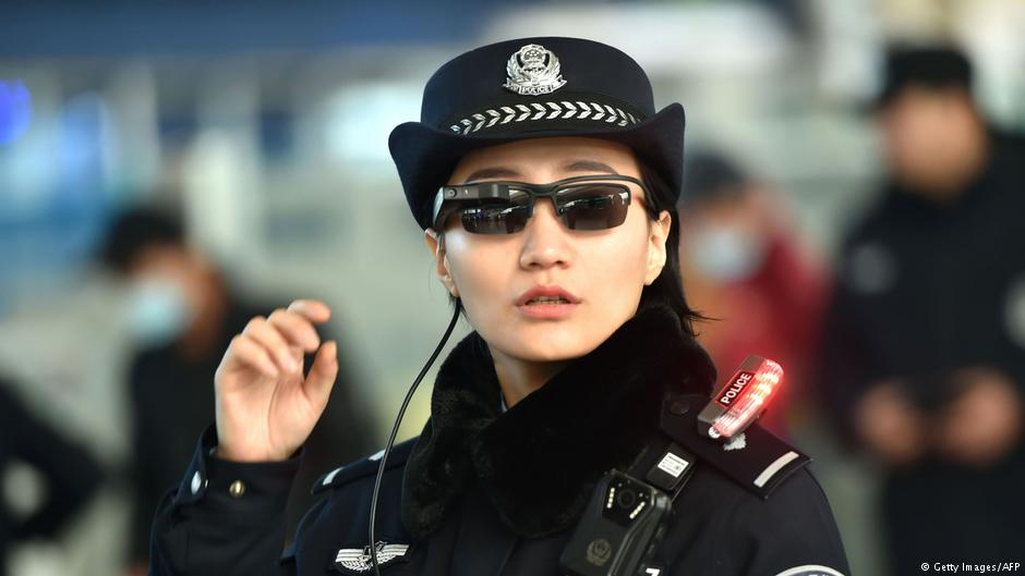 DW Chinese Police Officer 4.3.2018