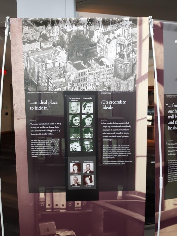 Anne Frank Exhibit SFPL V 7.17.2019