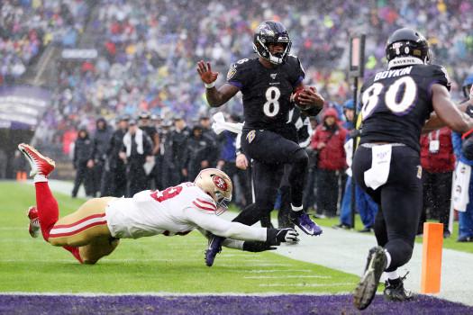 San Francisco 49ers vBaltimore Ravens