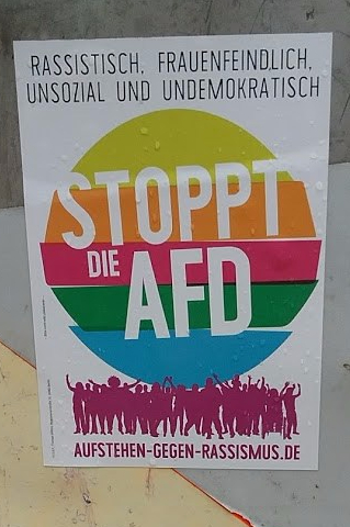 AFD Poster Lubeck Germany May 2017