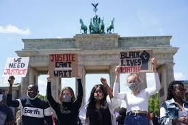 Berlin George Floyd protest II 5.31.2020