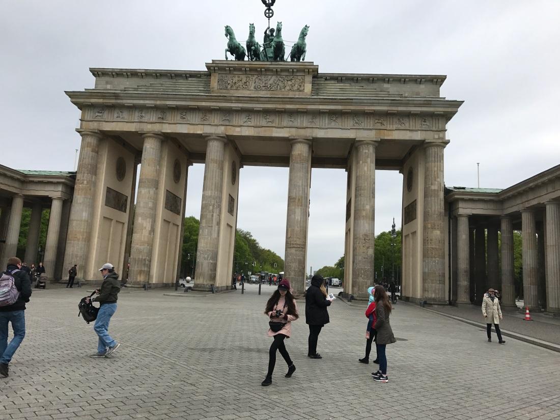Brandenburg Gate 5.2.2017