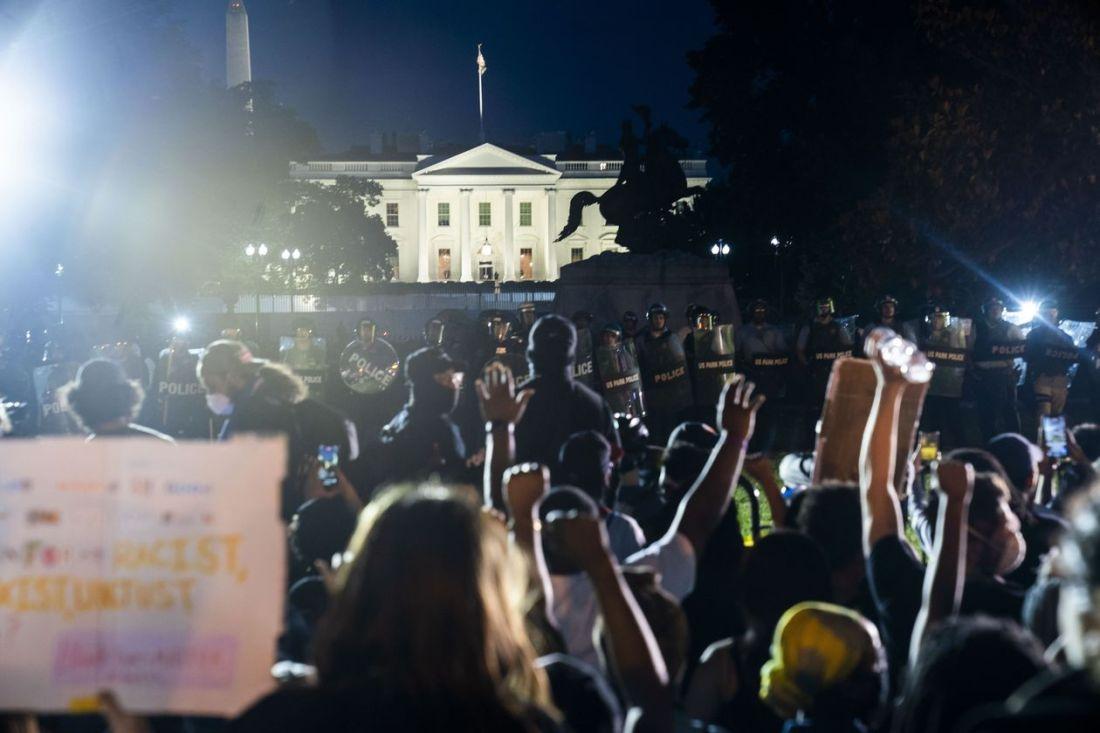 Minnesota murder Protests White House XXV 5.31.2020