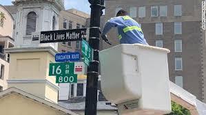Black Lives Matter Plaza III 6.5.2020