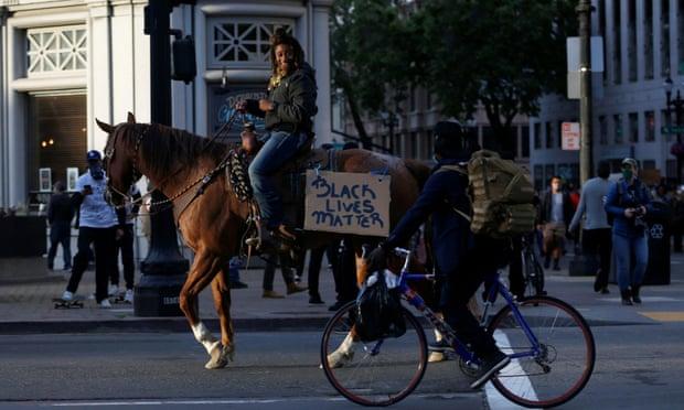 Horseback Protest I 6.1.2020