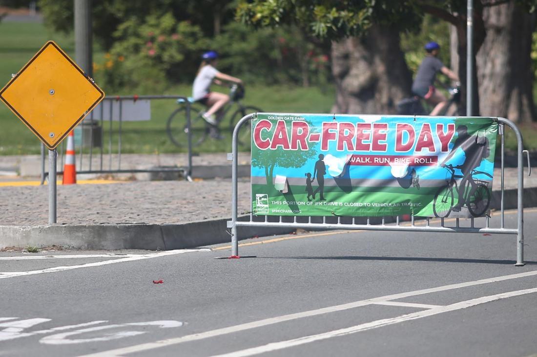 Car Free GG Park III 4.27.2020
