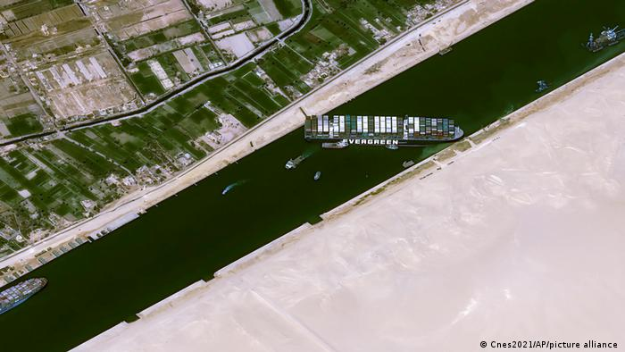Evergreen Suez VIII 3.27.2021