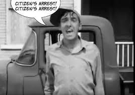 Citizen's arrest I 4.29.2021