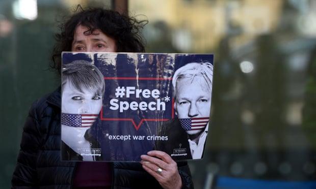 Julian Assange 4.12.2019